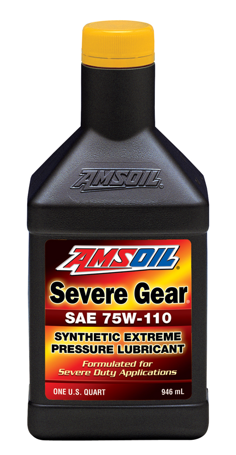 AMSOIL Severe Gear® 75W-110 Synthetic Gear Lube 1 Quart / 946 ml