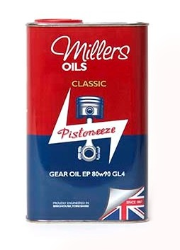 Millers Oils Classic Gear Oil EP 80w90 1l