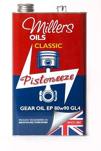 Millers Oils Classic Gear Oil EP 80w90 5l