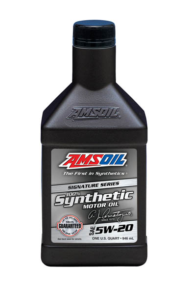 AMSOIL Signature Series 5W-20 Synthetic Motor Oil 1 Quart / 946 ml