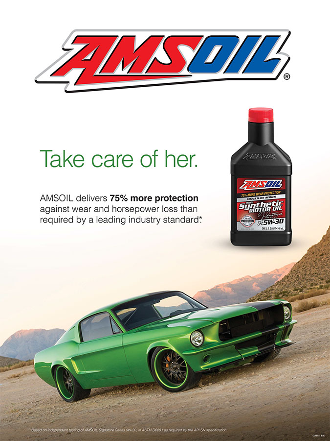 "AMSOIL ""Take Care of Her"" Poster"
