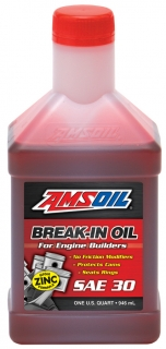 AMSOIL Break-In Oil SAE 30 1 Quart / 946 ml