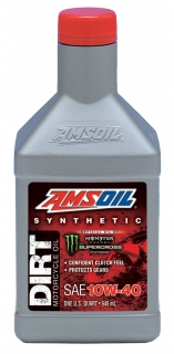 AMSOIL 10W-40 Synthetic Dirt Bike Oil 1 Quart / 946 ml
