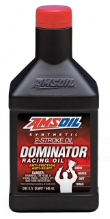 AMSOIL DOMINATOR® Synthetic 2-Stroke Racing Oil 1 Quart / 946 ml