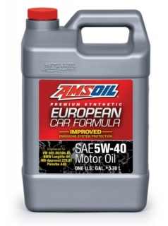 AMSOIL European Car Formula 5W-40 Improved ESP Synthetic Motor Oil 1 Gallon / 3,78 l