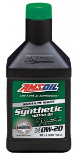 AMSOIL Signature Series 0W-20 Synthetic Motor Oil 1 Quart / 946 ml