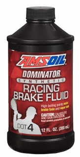 AMSOIL DOMINATOR® DOT 4 Synthetic Racing Brake Fluid 355 ml