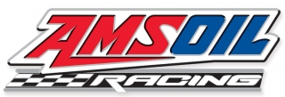 "AMSOIL Racing 4"" Checkered Race Decal"