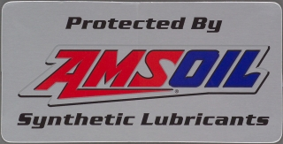 "AMSOIL 4"" AMSOIL Under Hood Decal"
