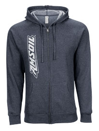 AMSOIL Full Zip Hooded Sweatshirt - L