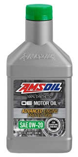 AMSOIL OE 0W-20 Synthetic Motor Oil 1 Quart / 946 ml