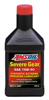 AMSOIL Severe Gear® 75W-90 Synthetic Gear Lube 1 Quart / 946 ml
