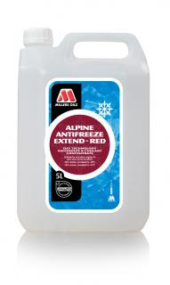 Millers Oils Alpine Antifreeze Extend Red 5l