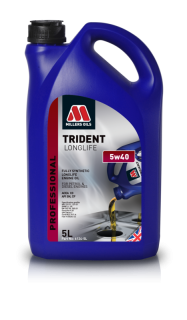 Millers Oils Trident Longlife 5w40 5l