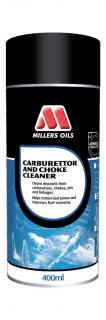 Millers Oils Carburettor and Choke Cleaner, 400ml